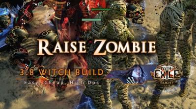 [Witch] PoE 3.8 Raise Zombie Necromancer Easy Build
